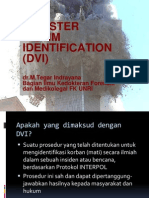 Disaster Victim Identification
