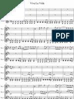 Viva La Vida - Eric West Cover on Violin transcription