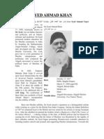 Syed Ahmad Khan Print