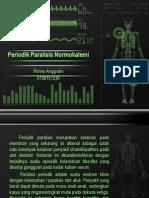 Periodik Paralisis Normokalemi