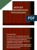 Merger (Penggabungan Perusahaan)