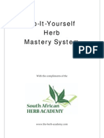 Herb Mastery System