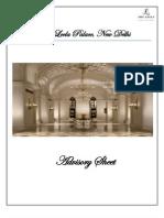 Advisory Sheet
