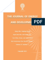 """""""Can China, Korea, and Japan, Avoid the Controversy Over Nuclear Power?"""" by Eunju Min, Yanping Zhang, Hyun-Goo Kim, and Suduk Kim"""