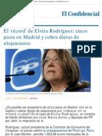 El 'récord' de Elvira Rodríguez