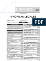 Decreto Supremo 050-2012