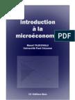 Yidizoglu Introduction a La Microeconomie