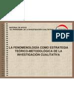 La Fenomenología