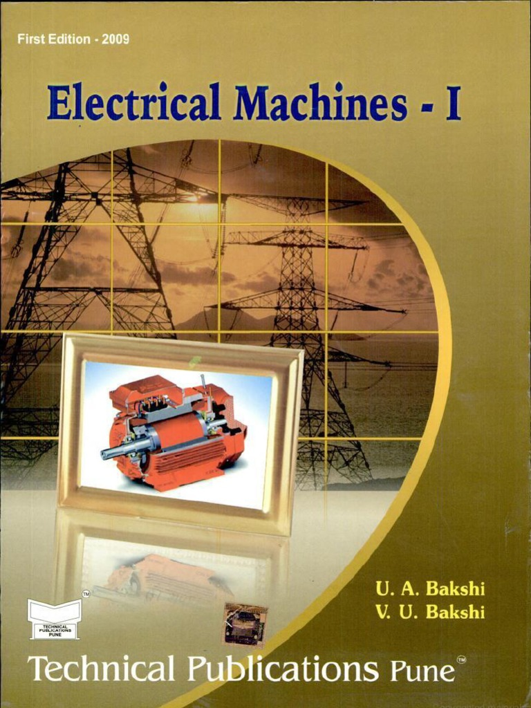 Electrical Machine Design Book By Nagoor Kani