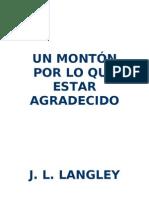 J.L. Langley -Un Montón por lo que Estar Agradecido