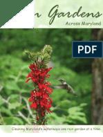 Rain Gardens Across Maryland