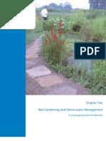 Rain Gardening and Storm-water Management