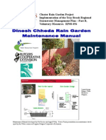 Rain Garden Maintenance Manual