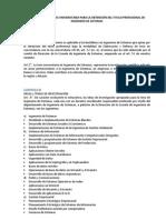 REGLAMENTO DE TESIS UNIVERSITARIA PARA LA OBTENCIÓN DEL TITULO PROFESIONAL DE INGENIERO DE SISTEMAS