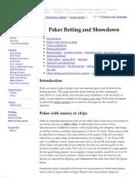Card Games_ Poker Betting
