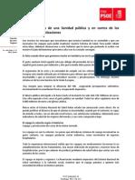 Argumentario sostenibilidad de la Sanidad pública