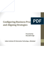 Configuring Business Processes and Aligning Strategies