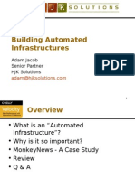 Building an Automated Infrastructure Presentation