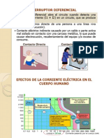 Instalaciones Electricas _Selección de Dispositivos de protección LLAVE DIFERENCIAL