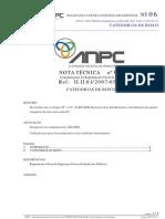 06 Nt Scie - Categorias de Risco Ref.ii.II.01 20070531