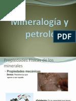 Mineralogía y petrología