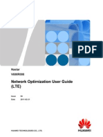 Nastar Network Optimization User Guide (LTE)-(V600R008_04)