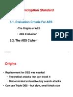 15812_5 Advanced Encryption Standards