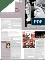 'De Communisten hebben Confucius voor hun kar gespannen' interview QE Wang in Eos Memo 02