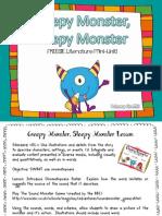 Creepy Monster Sleepy Monster