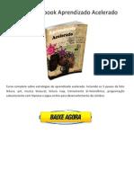 Download Livro Aprendizado Acelerado (Marcelo Maia) PDF