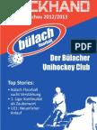 Backhand 2012/2013 Nr. 1
