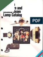 Sylvania Miniature and Sealed Beam Lamp Catalog 1983