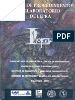 Manual Procedlab Lepraindre