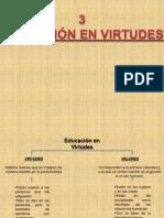 EDUCACIÓN EN VIRTUDES