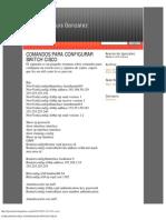 Comandos Para Configurar Switch Cisco
