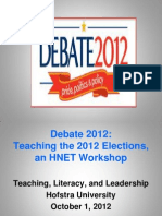 Teaching the Elections - HNET