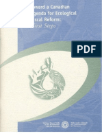 Toward a Canadian Agenda for Ecological Fiscal Reform