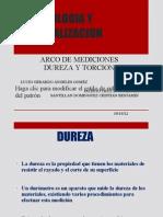 Metrologia y Normalizacion .- Dureza