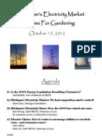 Michigan Energy Symposium - ABATE Opening