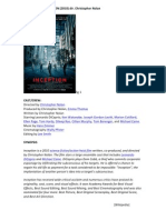 Film Review Inception