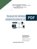 Administrador de Sistemas
