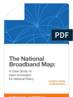 The National Broadband Map