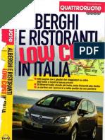 4Ruote Alberghi e Ristoranti Low Cost in Italia