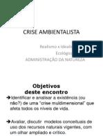 Crise Ambientalista Moodle 2012