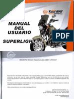 Manual Usuario Keeway SuperLight 125 CC