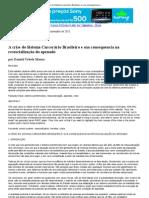 1 – Artigo_ A crise do Sistema Carcerário Brasileiro e sua consequencia na ressocialização do apenado – Revista Jus Vigilantibus