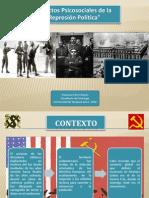 Efectos Psicológicos de la Represión Política