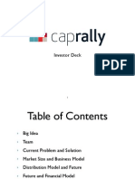 CapRally Investor Deck - V2