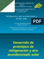 Refrigeracion Aire Acondicionado y Secado Solar CIE UNAM