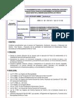 Directiva Ejecucion Actividades Mdt 2011